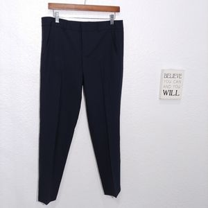Vince wool Navy ankle fit casual pant size 8